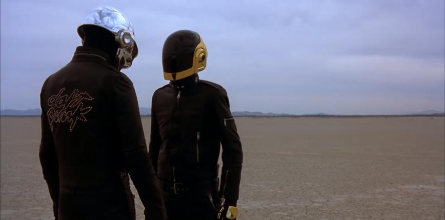 Gwałtowny wzrost liczby odsłuchań utworów Daft Punk po ogłoszeniu zakończenia działalności
