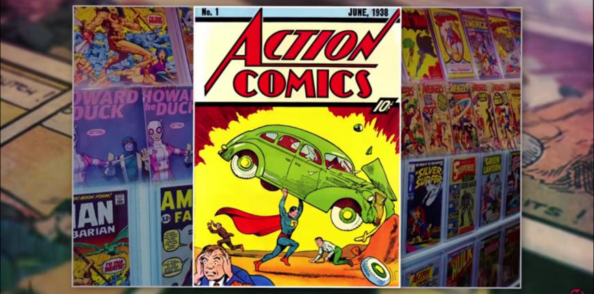 Komiks o Supermanie sprzedał się za rekordowe 3,25 miliona dolarów
