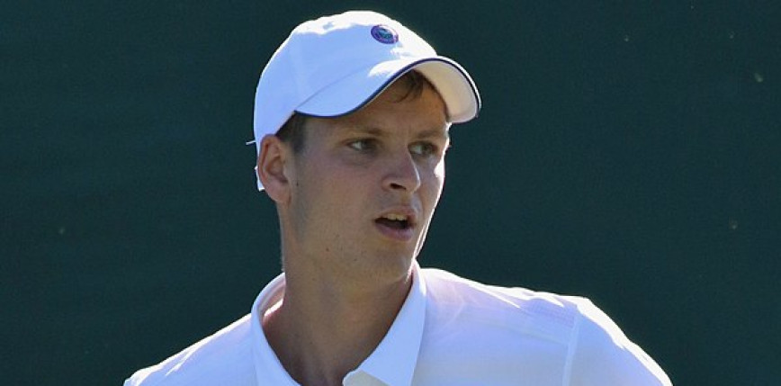 Tenis - Wimbledon: Hurkacz ogrywa Miedwiediewa i melduje się w ćwierćfinale!