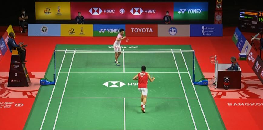 Badminton - Yonex Thailand Open: zamieszanie i koniec pierwszej rundy