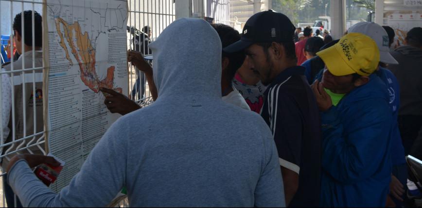 Meksyk: na granicy z USA aresztowano 53 migrantów