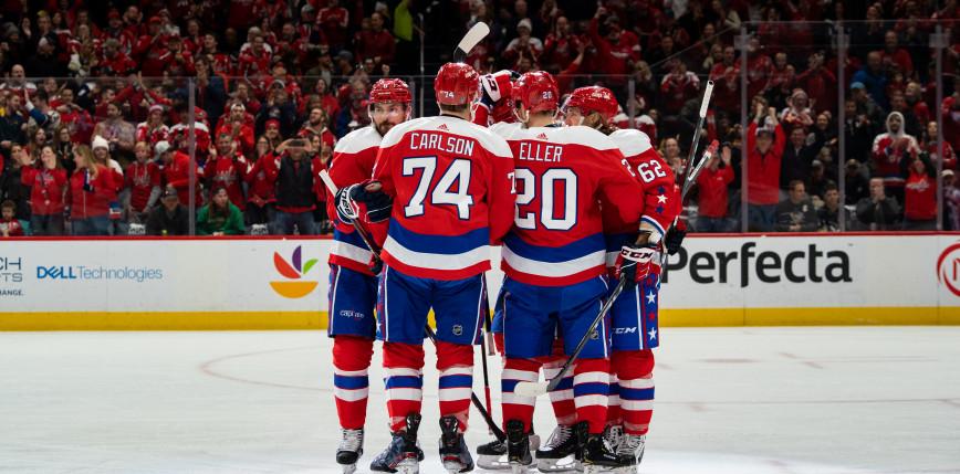 NHL: pewne zwycięstwo Capitals, udany debiut Manthy