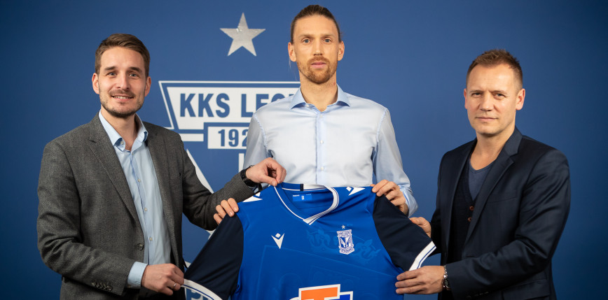 PKO Ekstraklasa: Bartosz Salamon piłkarzem Lecha Poznań