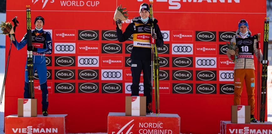 Kombinacja norweska - PŚ: Riiber ze zwycięstwem w piątkowych zmaganiach