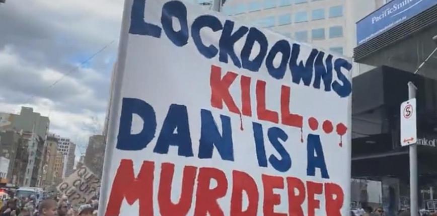 Australia: protesty przeciw lockdownowi. Setki aresztowanych