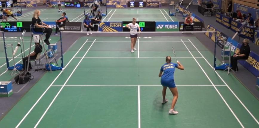 Badminton - ME U17: Szwecja lepsza na początek