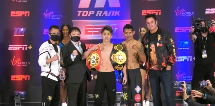Top Rank Boxing: Naoya Inoue szybko wygrywa przed czasem