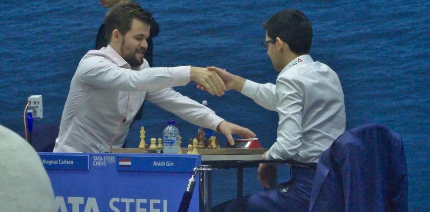 Szachy: kiepska gra Polaków, Carlsen w końcu wygrywa na Tata Steel Chess