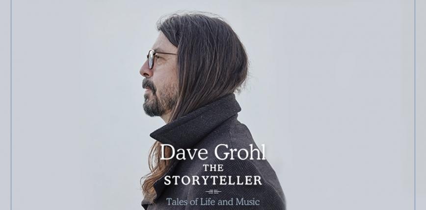 """Dave Grohl zapowiedział nową książkę - """"The Storyteller''"""