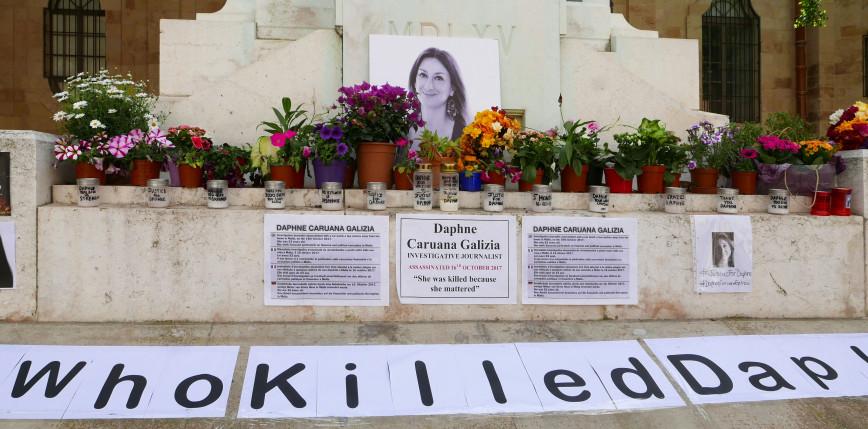Malta: 15 lat pozbawienia wolności za zabójstwo dziennikarki