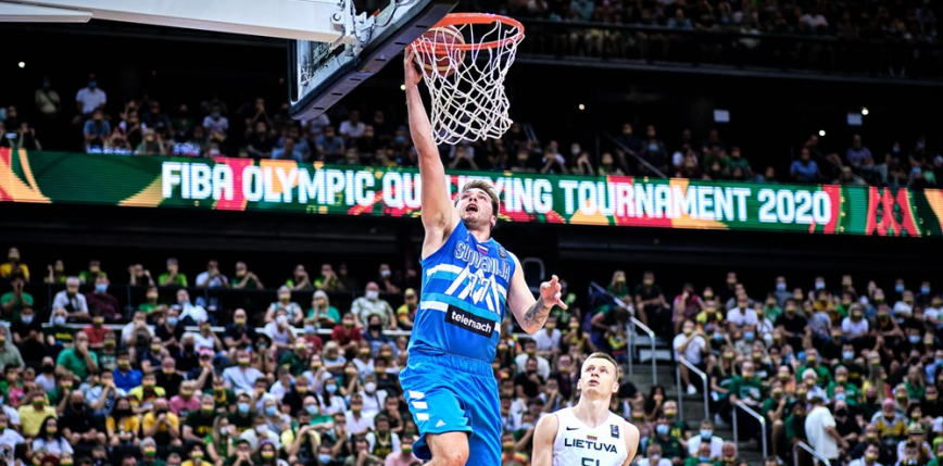 Koszykówka - kwalifikacje IO: Doncić wprowadza Słowenię na igrzyska