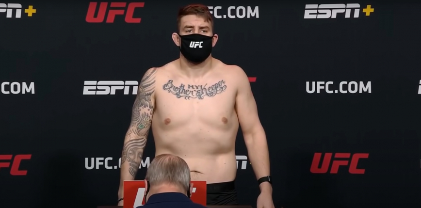 UFC Fight Night 185: Chris Daukas pokonuje Alexeya Oleinika