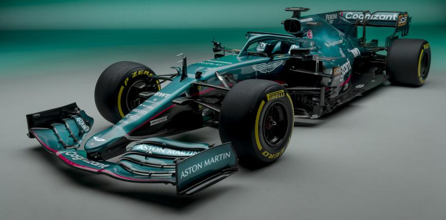 Formuła 1: Aston Martin Zaprezentował bolid na sezon 2021