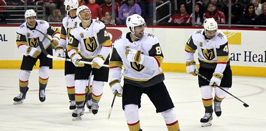 NHL: wtorkowa noc za nami, Vegas wciąż zwycięscy, Sharks ulegli Blues