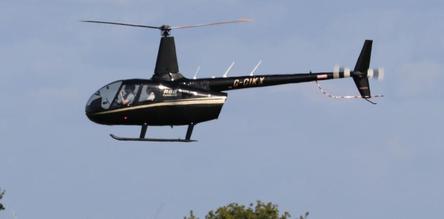 Kalifornia: w wyniku katastrofy helikoptera zginęły 4 osoby