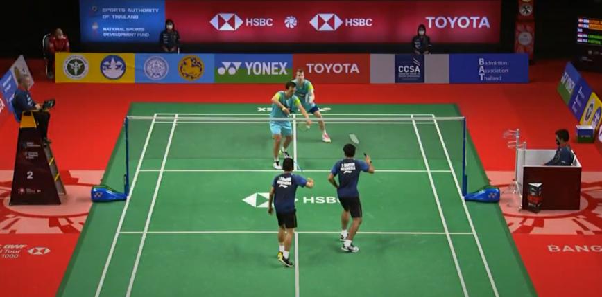 Badminton - Toyota Thailand Open: jedna sensacja w drugim dniu