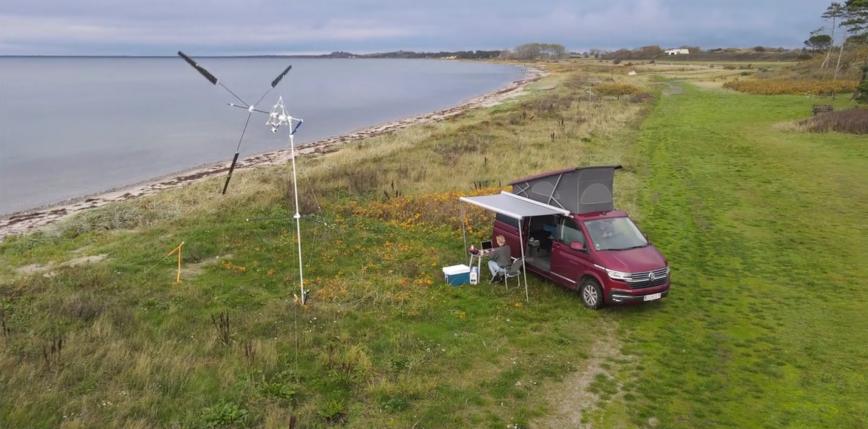 Energia elektryczna dla wczasowiczów. Przenośna turbina wiatrowa firmy KiteX