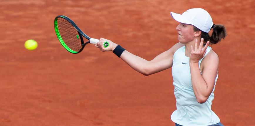 Tenis - Roland Garros: zwycięska Świątek w dniu swoich urodzin