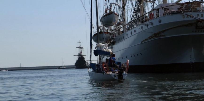 Święto Morza - parada żaglowców