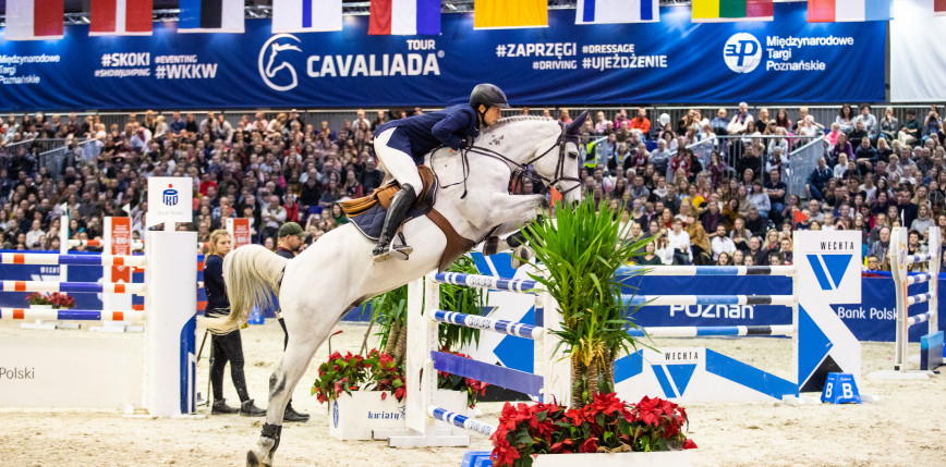 Jeździectwo - skoki: polski dublet na Cavaliadzie