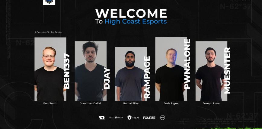 CS:GO: były skład New England Whalers przechodzi do High Coast