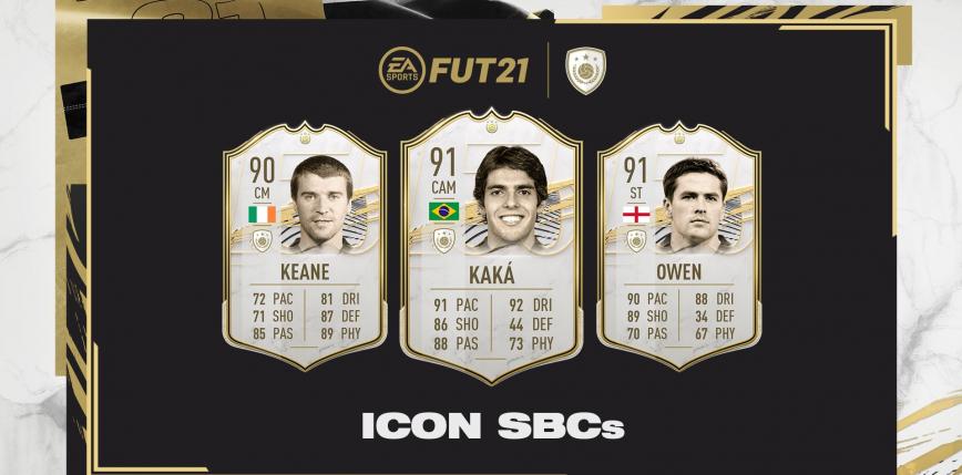 FIFA 21: kolejne trzy karty ikon dostępne poprzez SBC