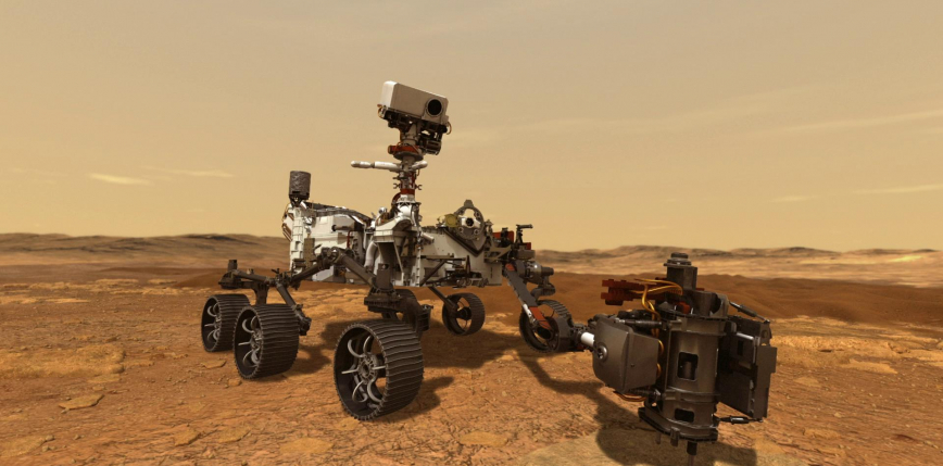 Łazik Perseverance ląduje na Marsie [AKTUALIZACJA]