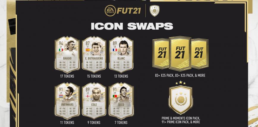 FIFA 21: druga część Icon Swaps już dostępna. Jakie ikony można zgarnąć za darmo?