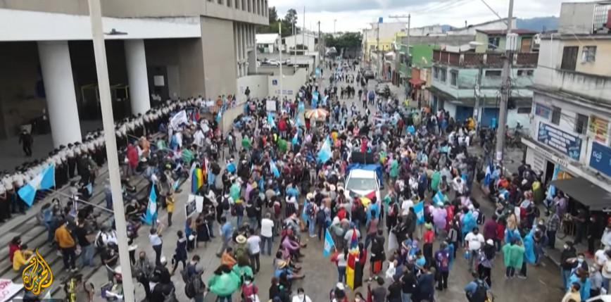 Gwatemala: protesty przeciwko prezydentowi