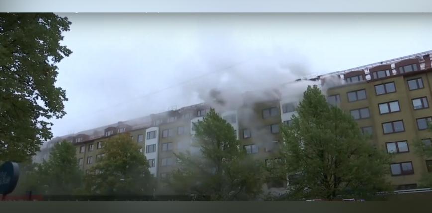 Szwecja: eksplozja w budynku. 25 osób trafiło do szpitala [AKTUALIZACJA]
