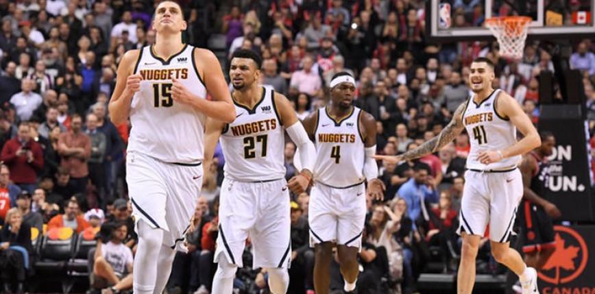 NBA: porażki faworytów w Waszyngtonie, Denver i Oklahoma City