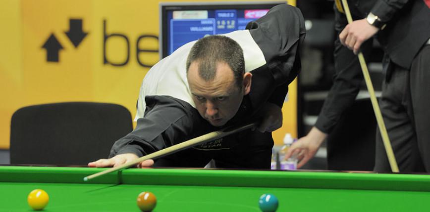 Snooker - CL: Mark Williams na prowadzeniu w siódmej grupie