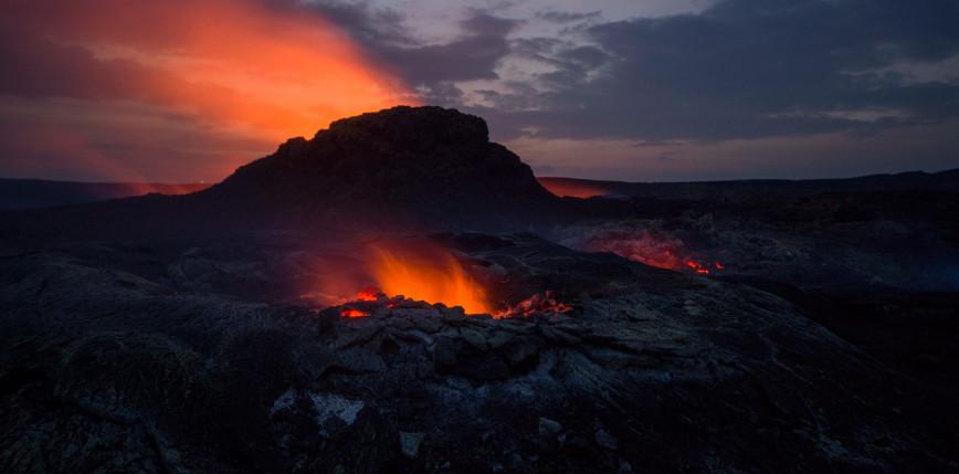 Islandia: nowe pęknięcie szczelinowe w Geldingadalur