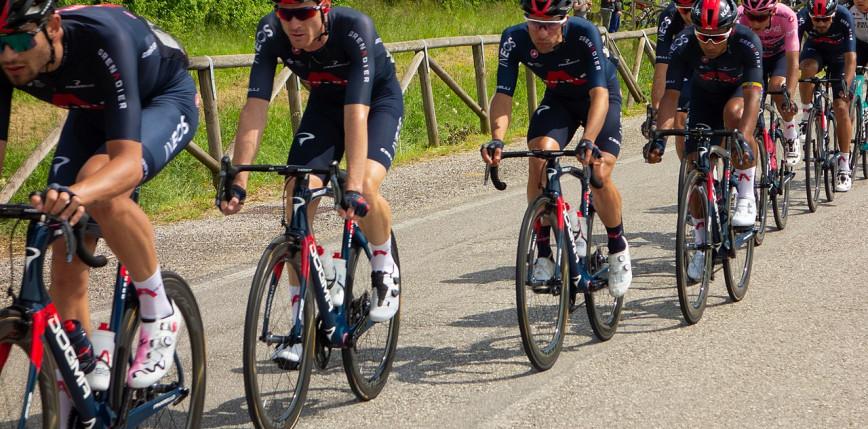 Tour of Britain: kolarze INEOS Grenadiers zwycięzcami drużynowej jazdy na czas