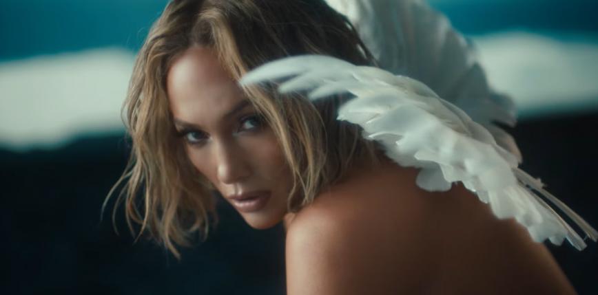 """Jennifer Lopez jako nagi anioł w teledysku do utworu """"In The Morning"""""""
