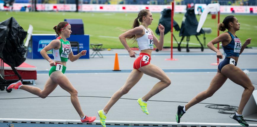 Lekkoatletyka - MP: szybkie 800 metrów kobiet, Czykier na tropie rekordu Polski