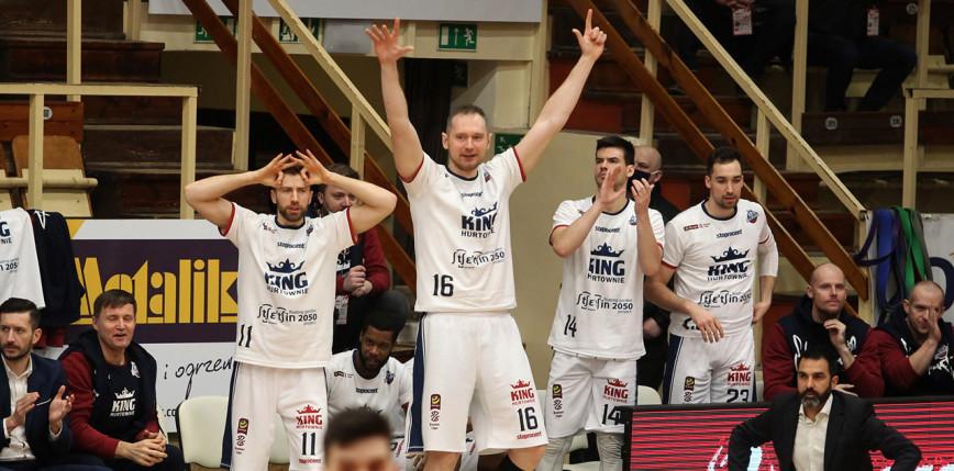 EBL: koniec świetnej serii Stali, King Szczecin zwycięski