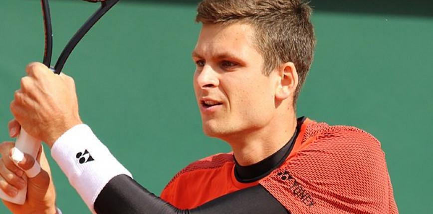 Tenis - Indian Wells: deblowa porażka Huberta Hurkacza