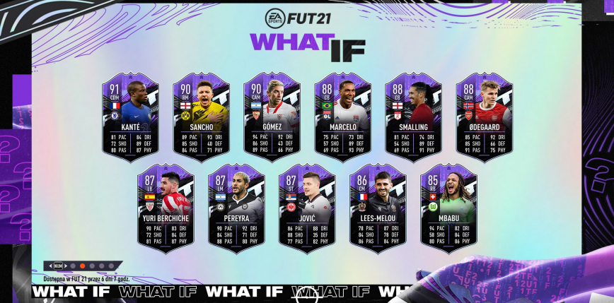 """FIFA 21: """"What if"""" - nowy event w grze!"""