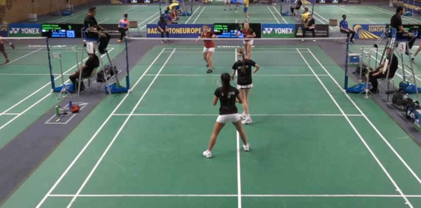 Badminton - ME U17: Belgia pokonana!