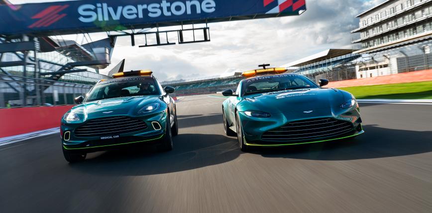 Formuła 1: Aston Martin w roli drugiego Safety Cara