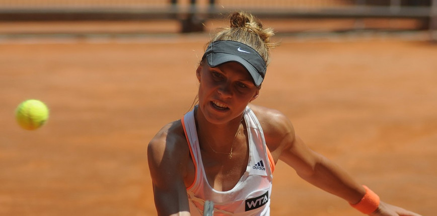 Tenis - Lozanna: koniec turnieju dla Katarzyny Piter