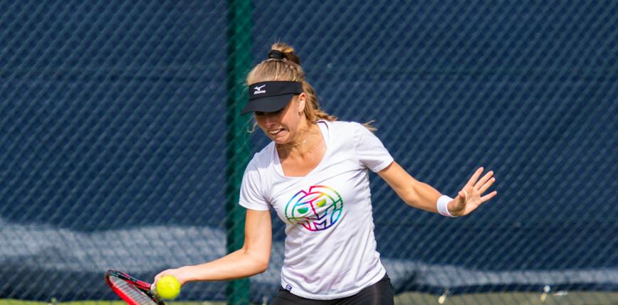 Tenis - Wimbledon: Fręch melduje się w drugiej rundzie eliminacji
