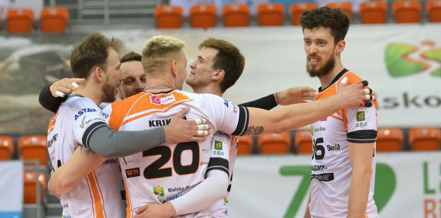 Siatkówka: znamy trzech półfinalistów Tauron 1. Ligi