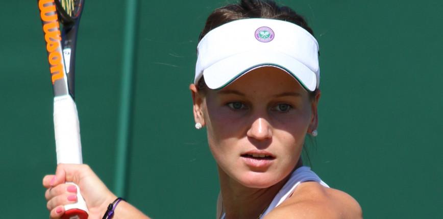 Tenis - WTA Charleston: życiowy sukces Kudiermietowej