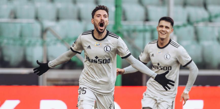 Piłka nożna - el. LM: Legia wygrała pierwszy mecz w Norwegii