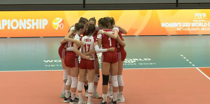 Siatkówka - MŚ U20: Polki zwyciężają z Brazylią i powalczą o 5. miejsce
