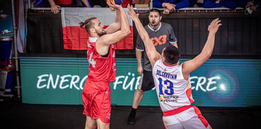 Koszykówka 3x3: trwają przygotowania Polaków do igrzysk