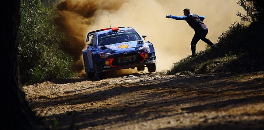 WRC: Ott Tanak liderem Rajdu Sardynii - pech Kajetanowicza