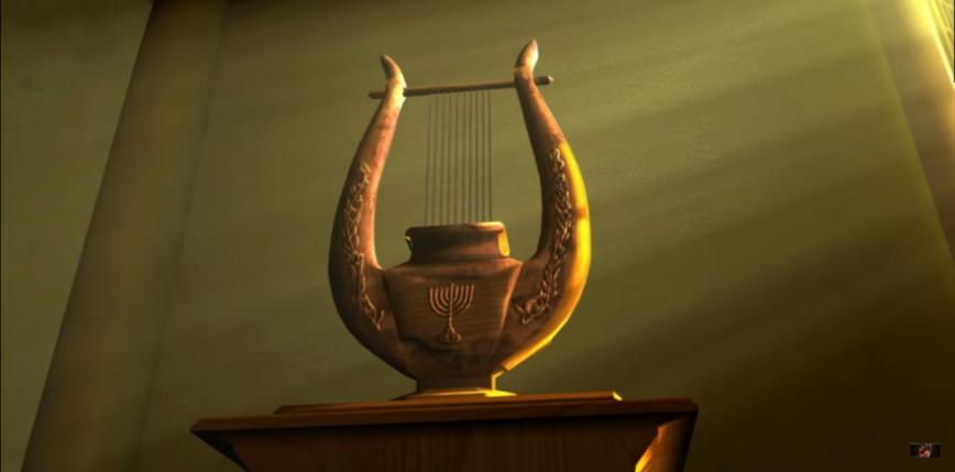 Jedynego na świecie producenta biblijnych harf pochłonął pożar